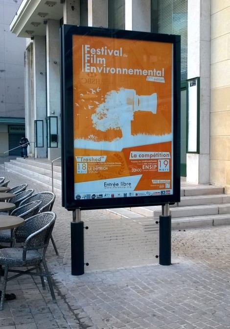 Affiche dans Poitiers 2014